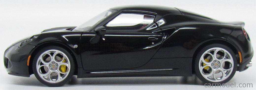 AUTOART 70184 Scale 1/18  ALFA ROMEO 4C 2013 NERO LUCIDO - BLACK