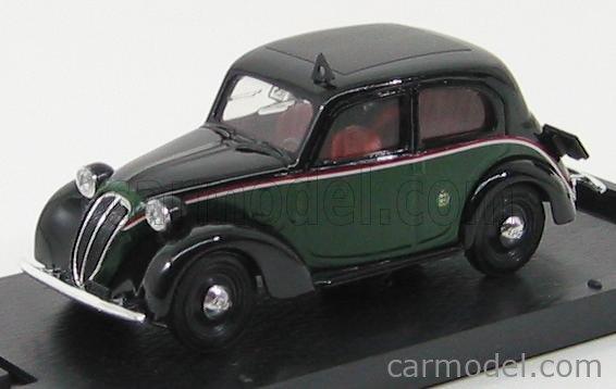 BRUMM R062 Echelle 1/43  FIAT 508C 1100 BERLINA TAXI 1937 - 1939 BLACK DARK GREEN