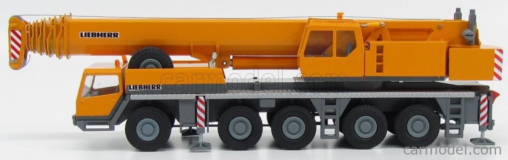 CONRAD 2090/0 Escala 1/50  LIEBHERR CRANE TRUCK LTM 1160/2 - GRUE AUTOMOTRICE - MOBILKRAN YELLOW GREY