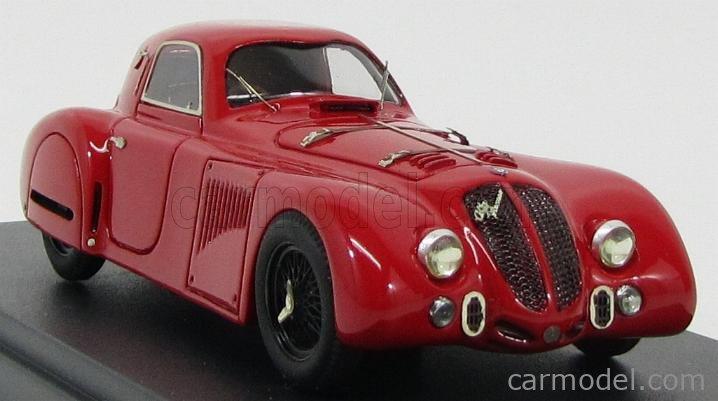 PINKO PI119-N Masstab: 1/43  ALFA ROMEO 8C 2900 B COUPE 1938 - BLACK WHEELS RED