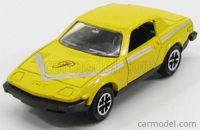 DINKY ENGLAND 112 Scale 1/43  TRIUMPH PURDEY'S TR7 1975 THE NEW AVENGERS YELLOW