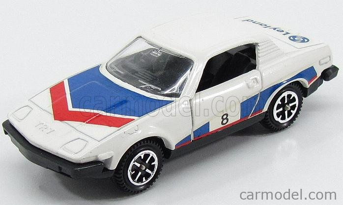DINKY ENGLAND 207 Scale 1/43  TRIUMPH TR7 N 8 RALLY 1975 WHITE