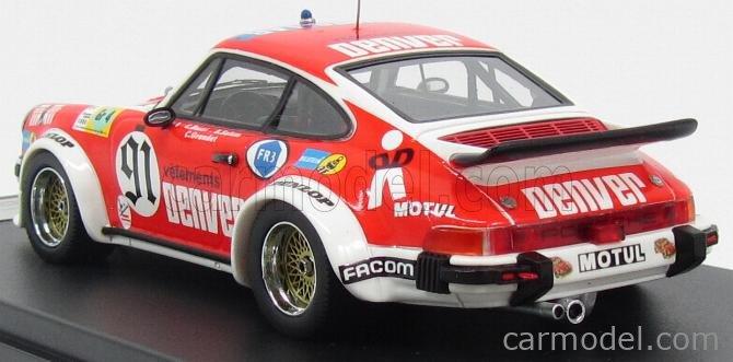 PREMIUM-X PR0417 Scale 1/43  PORSCHE 911 934 TEAM ASA CACHIA N 91 24h LE MANS 1980 C.BUSSI - B.SALAM - C.GRANDET RED WHITE