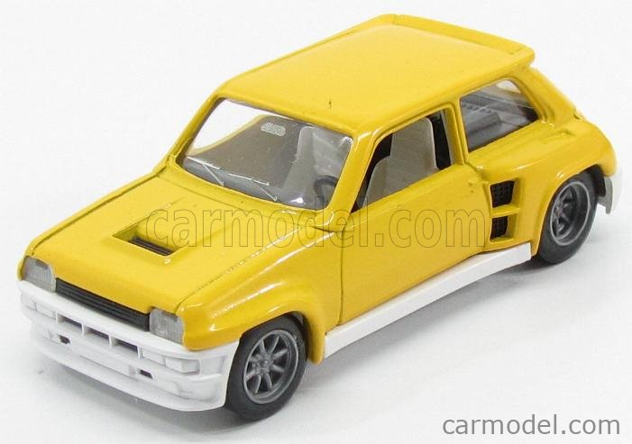 TOP43 0058 Масштаб 1/43  RENAULT R5 TURBO N 7 RALLY TOUR DE CORSE 1982 A.RAGNOTTI - A.ANDRIE YELLOW WHITE BLACK