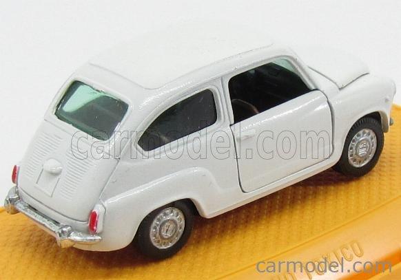 PILEN M335 Masstab: 1/43  SEAT FIAT 600 (1 ISSUE) WHITE