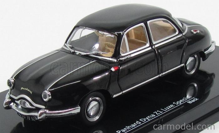 VITESSE 23592 Masstab: 1/43  PANHARD DYNA Z1 LUXE SPECIAL 1954 BLACK