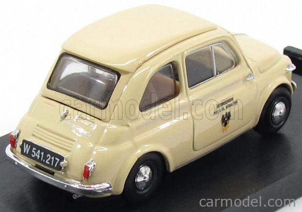 BRUMM R588 Echelle 1/43  STEYR-PUCH 500D POSTE AUSTRIACHE 1959 CREAM