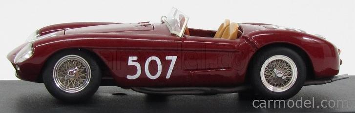 TRON ST017 Scale 1/43  FERRARI 500 MONDIAL SPIDER N 507 MILLE MIGLIA 1957 RED