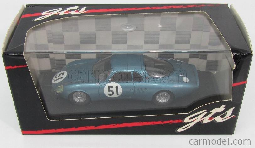 GTS GTS23.2 Scale 1/43  RENE BONNET AERODJET N 51 24h LE MANS 1963 BLUE MET
