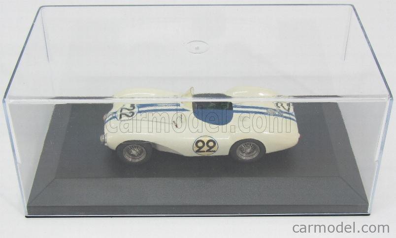 PROVENCE MOULAGE K487 Echelle 1/43  ASTON MARTIN DB3S N 22 24h LE MANS 1954 CARROL SHELBY - PAUL FRERE WHITE BLUE