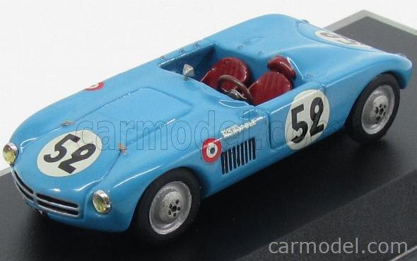 ALM-MODEL ALM001 Masstab: 1/43  PANHARD MONOPOLE X84 N 52 22nd LE MANS 1950 J.DE MONTREMY - J.HEMARD LIGHT BLUE
