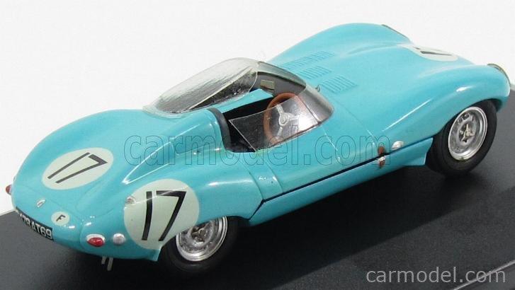 PROVENCE MOULAGE K441 Scale 1/43  JAGUAR D-TYPE N 17 24h LE MANS 1957 J.LUCAS - MARY LIGHT BLUE