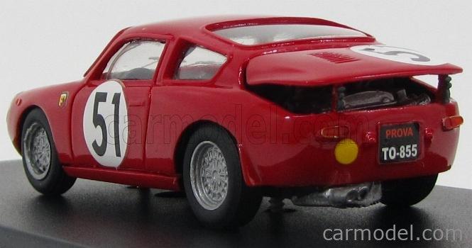 PINKO PI111 Masstab: 1/43  ABARTH 700S ABARTH TEAM ABARTH CORSE & CIE N 51 24h LE MANS 1962 RED