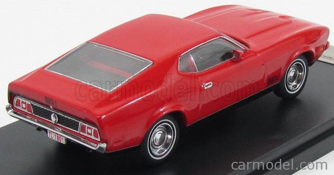 PREMIUM-X PRD396J Scale 1/43  FORD USA MUSTANG MACH 1 COUPE 1971 RED