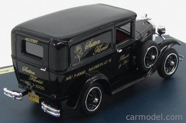 GENUINE-FORD-PARTS GPF439 Masstab: 1/43  FORD USA MODEL-A VAN SUTTON FLORIST 1931 BLACK