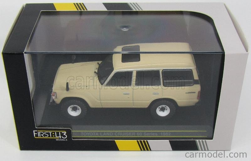FIRST43-MODELS F43-072 Echelle 1/43  TOYOTA LAND CRUISER 1982 BEIGE